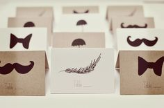 Free download: Illustrative escort cards
