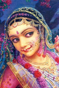 "speranzayaamal: "" Srimati Radharani """
