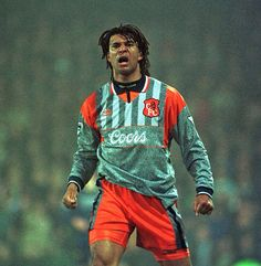 Ruud Gullit - Chelsea FC: Some would say one of the worst CFC kits ever, but a sentimental favorite for me