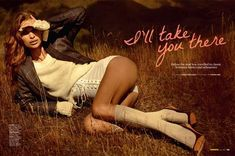 70s+Road+Trip+Editorials+-+The+Cosmopolitan+Australia+'I'll+Take+You+There'+Photoshoot+is+Retro+(GALLERY)
