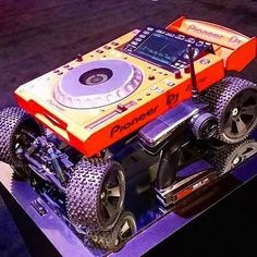 For the DJ on the go… What do you think of this nifty little contraption?  by @djcane