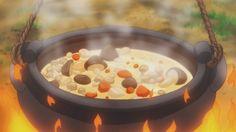 Mushroom Soup! - Ore Monogatari!! 10 #AnimeFood https://www.facebook.com/DeliciousAnimeFood/