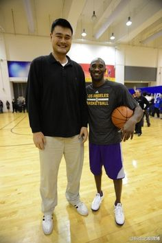Yao and Kobe Love And Basketball, Basketball Players, Shaq And Kobe, Jeremy Lin, Lakers Kobe Bryant, Allen Iverson, Shaquille O'neal, Sports Figures, Houston Rockets