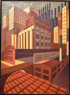 Louis Lozowick - Cleveland (1926 − 1927)