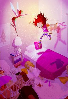 pascalcampion:    A Magical NightFour years ago today, my little girl was born. Happy Birthday Lily. You bring magic to my life I love you.