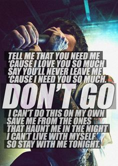 ●Dont'go●  BMTH