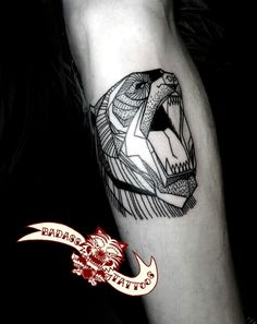 Badass Tattoo Seoul Korea #bear #tattoo