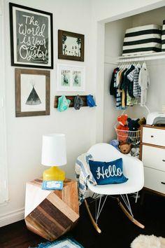 Beautiful nursery | Jolie chambre d'enfants