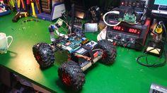 Small robot rover   Let's Make Robots!