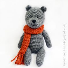 Teddy bear - amigurumi pattern (eng)