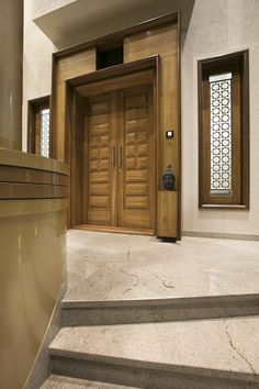 Door design modern 4433299620409133 – Home Decor – womenstyle. House Main Door Design, Wooden Front Door Design, Double Door Design, Door Design Interior, Wooden Front Doors, Wood Doors, Fence Doors, Modern Entrance Door, Main Entrance Door Design