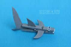 shark clothespin!