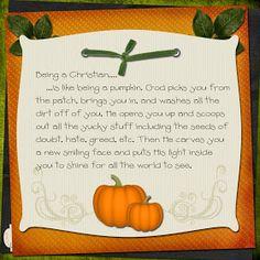 Heather's Heart: Shining Our Pumpkin Lights