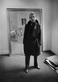 Francis Bacon by Derek Hudson, Rue de Seine, Paris, Bacon Images, Abstract Artists, Artist At Work, Painter, Francis Bacon, Famous Artists, Art, Life Art, Art History