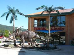 Dinosaur Museum in Woodland Park, Colorado