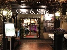 Absolutely the best restaurant in Florence Italy!  Amazing food, prime location and the staff is wonderful!  Be sure to say hi to Guiseppe and Lyndsy. http://www.ciroandsons.com/