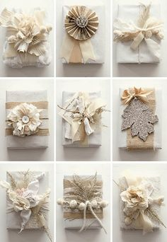 inspiration for some gift wrapping this holiday season!
