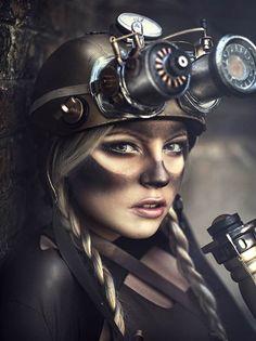 Steampunk-Girl-pin-up-2