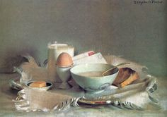 Breakfast Still Life by Elizabeth Paxton