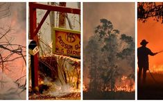 Australia enters era of disaster: bushfires and drought Visit Australia, Australia Travel, Bushfires In Australia, Scuba Diving Australia, Visit Wales, Australian Beach, Climate Change Effects, New South, Extreme Weather