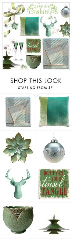 """Gracious Gifting: home decor ideas"" by onenakedewe ❤ liked on Polyvore featuring interior, interiors, interior design, home, home decor, interior decorating, Claire Gaudion, Kevin O'Brien, One Bella Casa and Waterford"