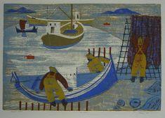 Henrik Finne (1898-1992): Henrik Finnes tresnitt Creative Skills, Painting, Art, Pictures, Art Background, Painting Art, Kunst, Paintings, Performing Arts