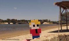 LEGO Life of George in Uruguay at Puente de la Barra Leonel Viera.