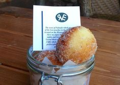 Palisade Peach Doughnut Holes recipe from the Ranch at Emerald Valley in Colorado Springs