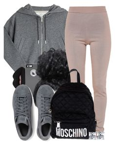 """""""Untitled #572"""" by b-elkstone ❤ liked on Polyvore featuring Golden Goose, Lime Crime, OtterBox, Balmain, adidas Originals, Moschino and BERRICLE"""