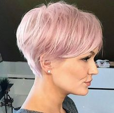 60 Stunning Pixie Haircut Ideas for This New Season Stylish Pixie Haircut; Super Muy Corto Pixie Cortes de pelo Y Colores de Pelo para Nice Short Haircuts, Short Hairstyles For Women, Short Hair Cuts, Bob Hairstyles, Straight Hairstyles, Girl Haircuts, Hairstyle Short, Pixie Haircuts 2015, Pink Short Hair