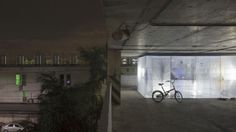 Project Light house turns a parking lot into temporary housing. By Architectural firm Allzone. More on our blog.