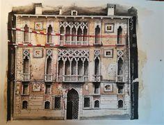 Notre Dame, Drawing, Building, Travel, Venice, Viajes, Buildings, Sketches, Destinations