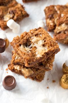 Gluten-Free Rolo Cookie Bars - Grain Changer