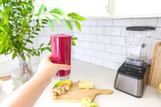 Plum Pretty Decor & Design Co.Healthy Beet and Veggie Smoothie — Veggie Smoothies, Smoothie Recipes, Vanilla Protein Powder, Food Challenge, Beets, Vegan Vegetarian, New Recipes, Veggies, Cleaning
