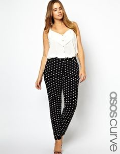 Love these ASOS CURVE Peg Trouser In Heart Print :) Just ordered :)