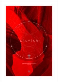 Poster 50x70cm - sauveur - jean 3:16 - atelierdubarbu.com - certitude.fr - #bible #verset #poster #deco #print #design #minimalist #moderne #dieu #jesus #chretien #sauveur