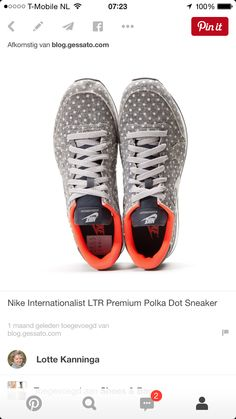 super popular 207a4 c10d5 A standout from Nike s January 2015 Polka Dot Pack, the Nike  Internationalist LTR Premium Polka.
