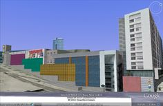 Modelação 3D do Centro Comercial Dolce Vita, no Porto.  Pode visitar este nosso trabalho na camada earth do google maps.
