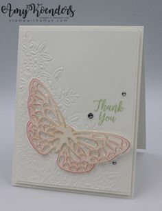 Stampin' Up! Southern Serenade Thank You – Stamp With Amy K