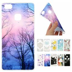 For Coque Huawei P9 Lite Case Silicone Cartoon Cute Transparent Cover for Huawei Ascend P 9 Lite Slim TPU Soft Back Phone Cases #Affiliate