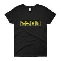 Blocked Teacher Tee Shirt