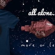 #reddwarf #tshirt http://www.qwertee.com/product/all-alone-more-or-less/