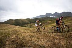 Faster, faster! Epic shot of @nschurter during stage 1 of @ABSA Creative Solutions Cape Epic 2014