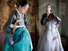 Korean traditional dresses by Hanbok Lynn #dress