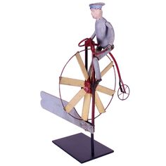 Velocipede Whirligig | New England | Anonymous    Unknown  Velocipede Whirligig