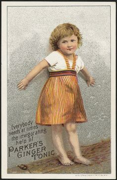 Everybody needs at times the invigorating help of Parker's Ginger Tonic. (front) | Flickr - Photo Sharing!