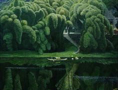 Bottle Brush Trees by Jian Chong Min