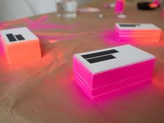 spray paint business cards