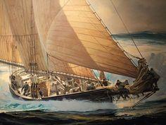 Detail of The Widowmaker by American Thomas Maclay Hoyne 1924-1989