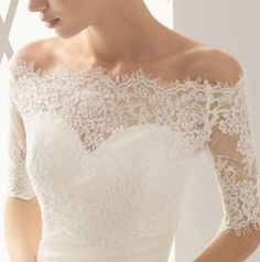 Even though this is what I want some day, my sister would look fantastic in this type of dress!